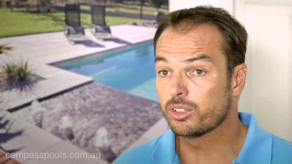 Compass Pools Australia - Fibreglass Swimming Pools - Video Library - Difference Between Fibreglass and Concrete Swimming Pool Video Cover