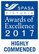 SPASA Victoria Highly Commended 2017 Award