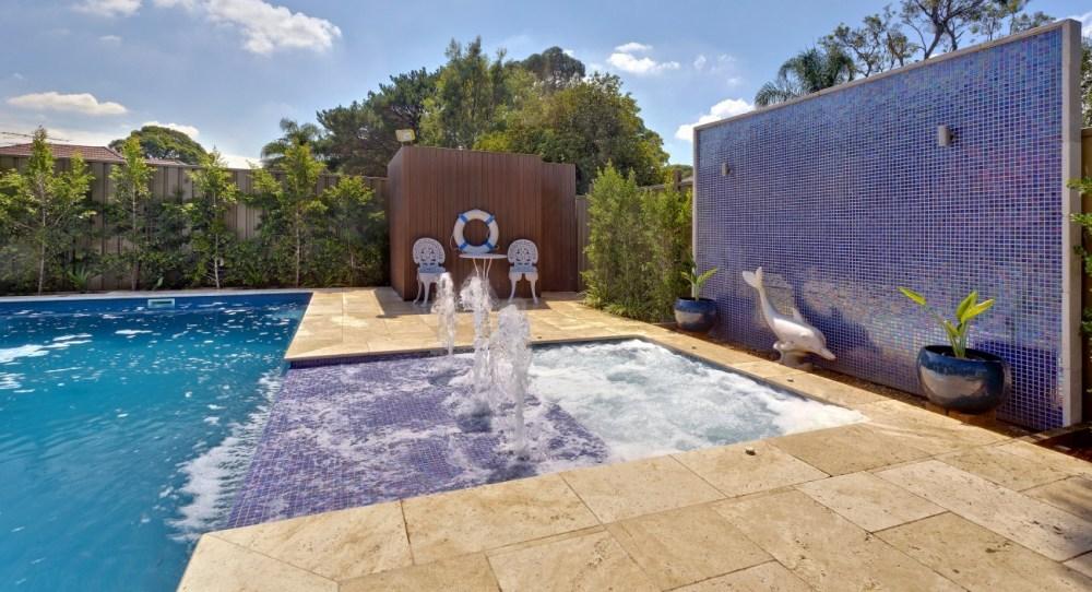 Australia Staycation ideas - own backyard pool
