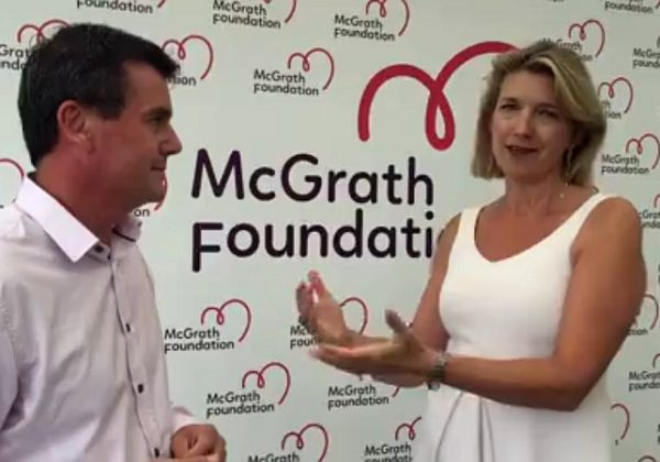 121000 AUD given to McGrath Foundation