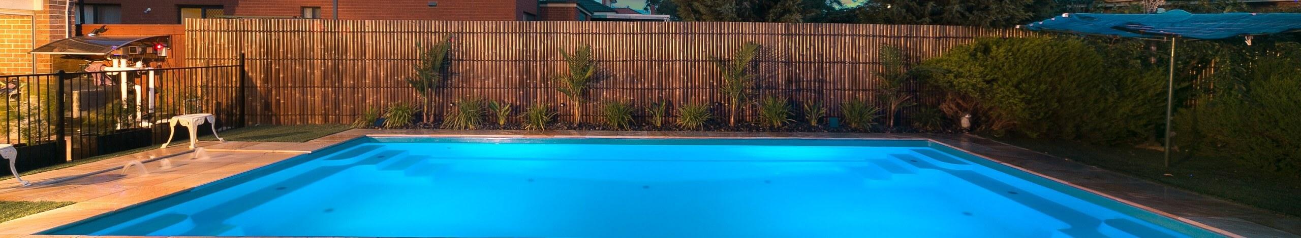 Contemporary Fibreglass Pool Shape Header