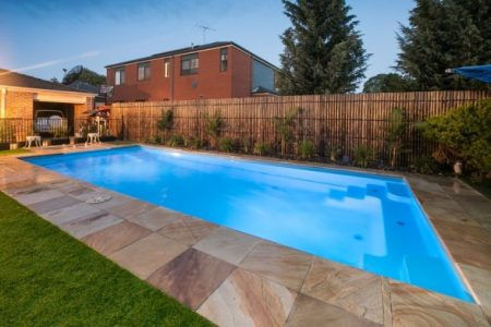 Contemporary Fibreglass Swimming Pool