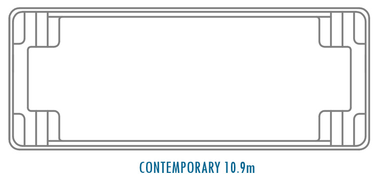 Compass Pools Australia Fibreglass Swimming Pool Shapes - Contemporary 10_9