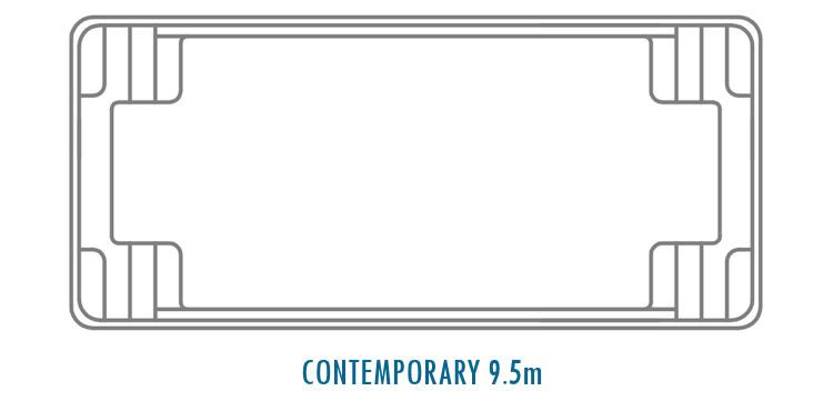 Compass Pools Australia Fibreglass Swimming Pool Shapes - Contemporary 9_5