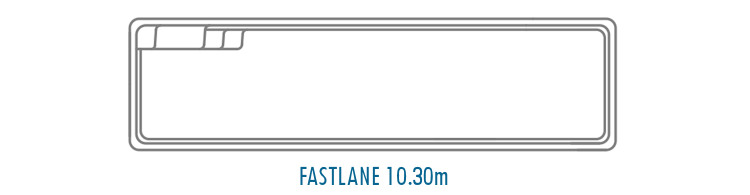 Compass Pools Australia Fibreglass Swimming Pool Shapes - Fastlane 10_3