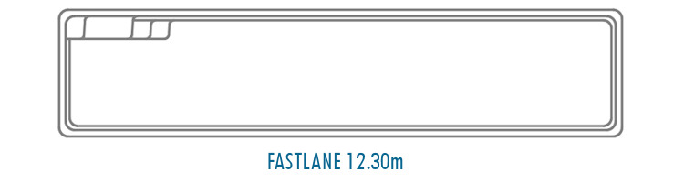 Compass Pools Australia Fibreglass Swimming Pool Shapes - Fastlane 12_3