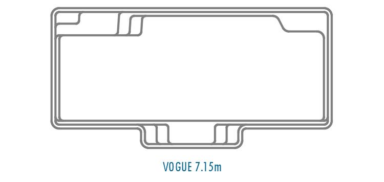 Compass Pools Australia Fibreglass Swimming Pool Shapes - Vogue 7_15