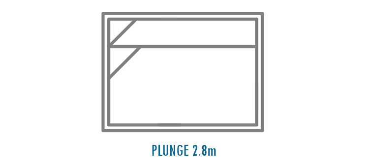 Compass Pools Australia Fibreglass Swimming Pools Shapes - Plunge 2_8