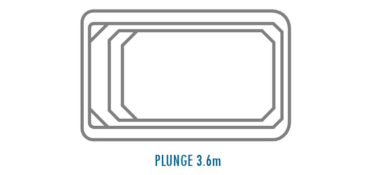 Compass Pools Australia Fibreglass Swimming Pools Shapes - Plunge 3_6