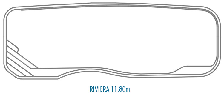 Compass Pools Australia Fibreglass Swimming Pools Shapes - Riviera 11_8