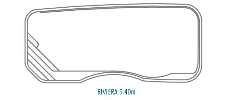 Compass Pools Australia Fibreglass Swimming Pools Shapes - Riviera 9_4