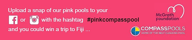 Compass Pools Australia McGrath Partnership Contest Promo