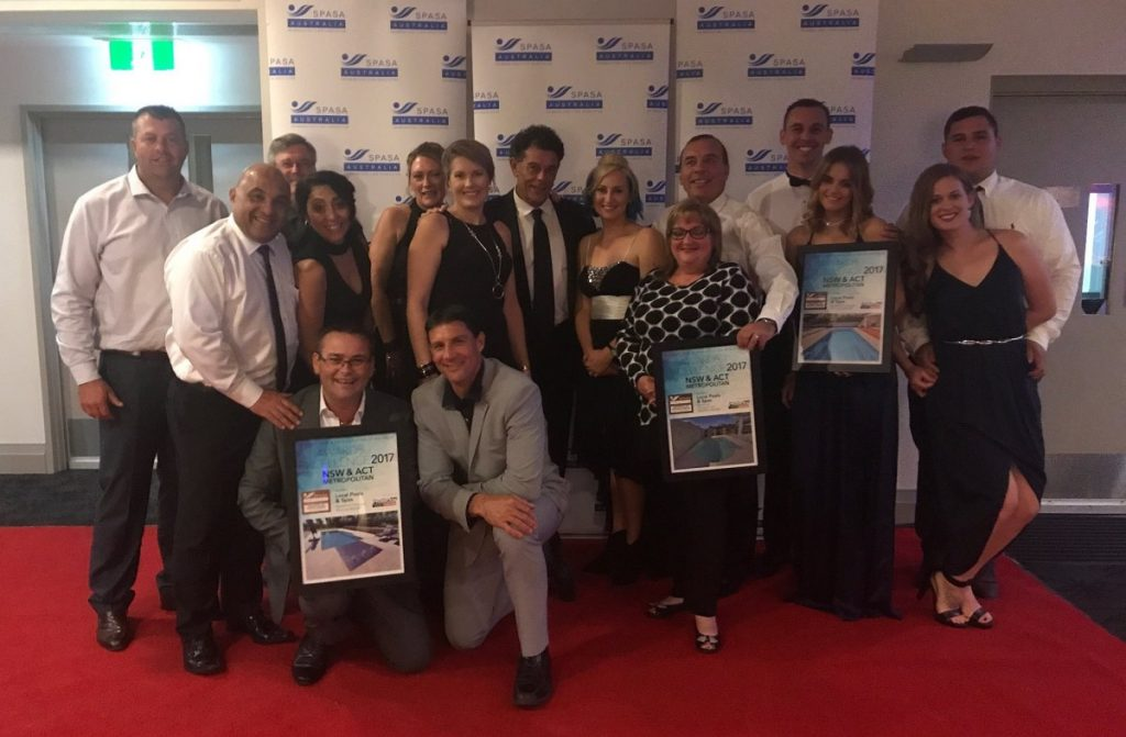 Compass Pools Australia NSW SPASA Awards 2017 Local Pools and Spas 1200