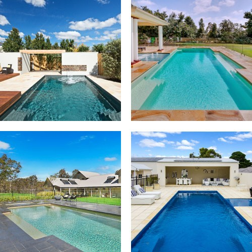Compass Pools Australia Our Promise - Two Colour Ranges