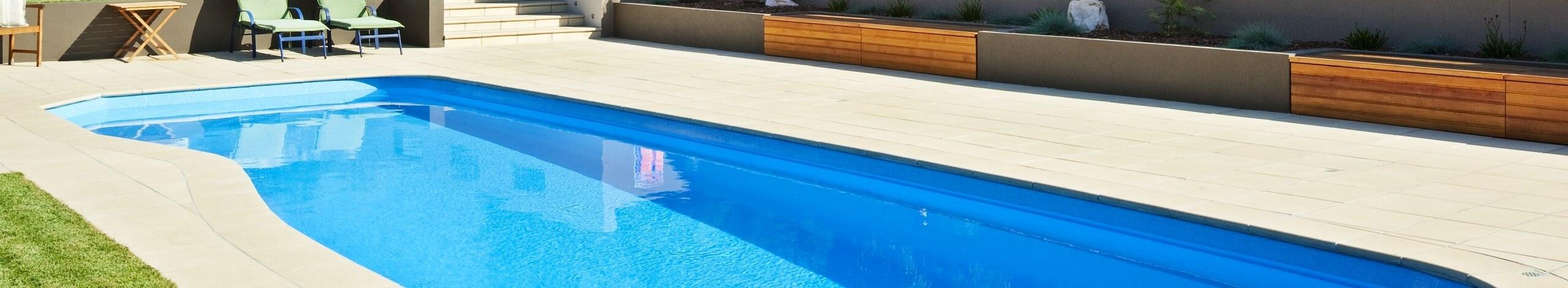 Riviera Fibreglass Pool Shape Header