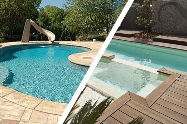 Compass Pools Australia Selecting between concrete pool and fibreglass pool