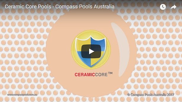 Compass Pools Australia Video Strong Ceramic Core Fibreglass Pools