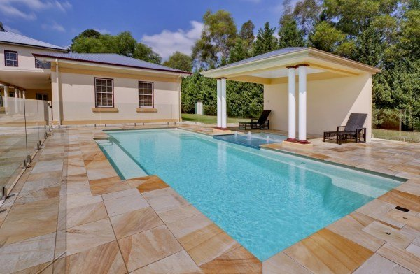 Vogue fibreglass swimming pool compass pools australia How to draw swimming pool water
