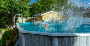 Compass Pools Australia Above ground pools Portable pool