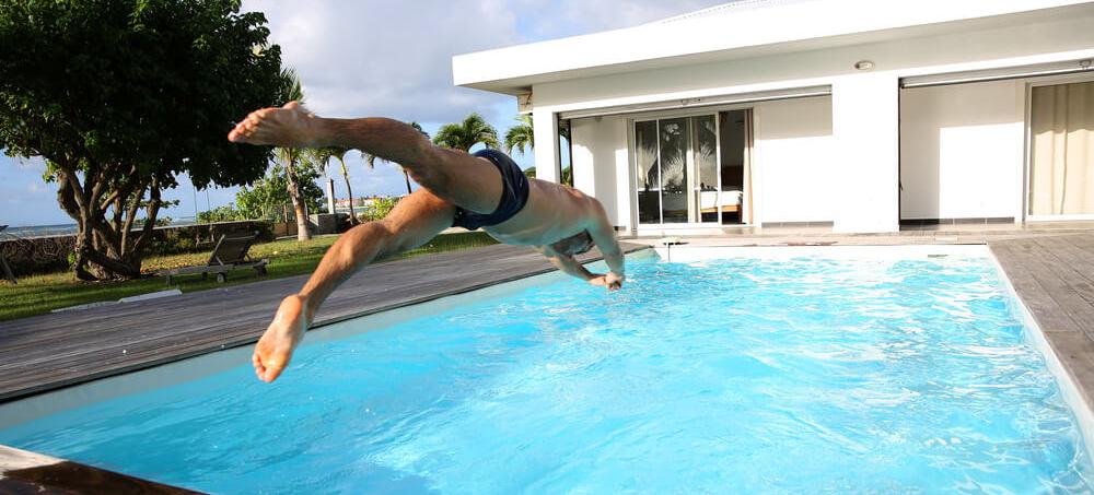 Swim regularly to get the swimmer's body