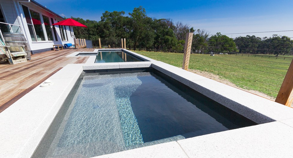 Above ground swimming pools and above ground spas