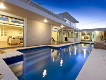 Compass Pools Australia Backyard pool design ideas Fastlane lap pool