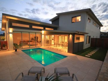 Compass Pools Australia Backyard pool design ideas X Trainer small backyard pool design