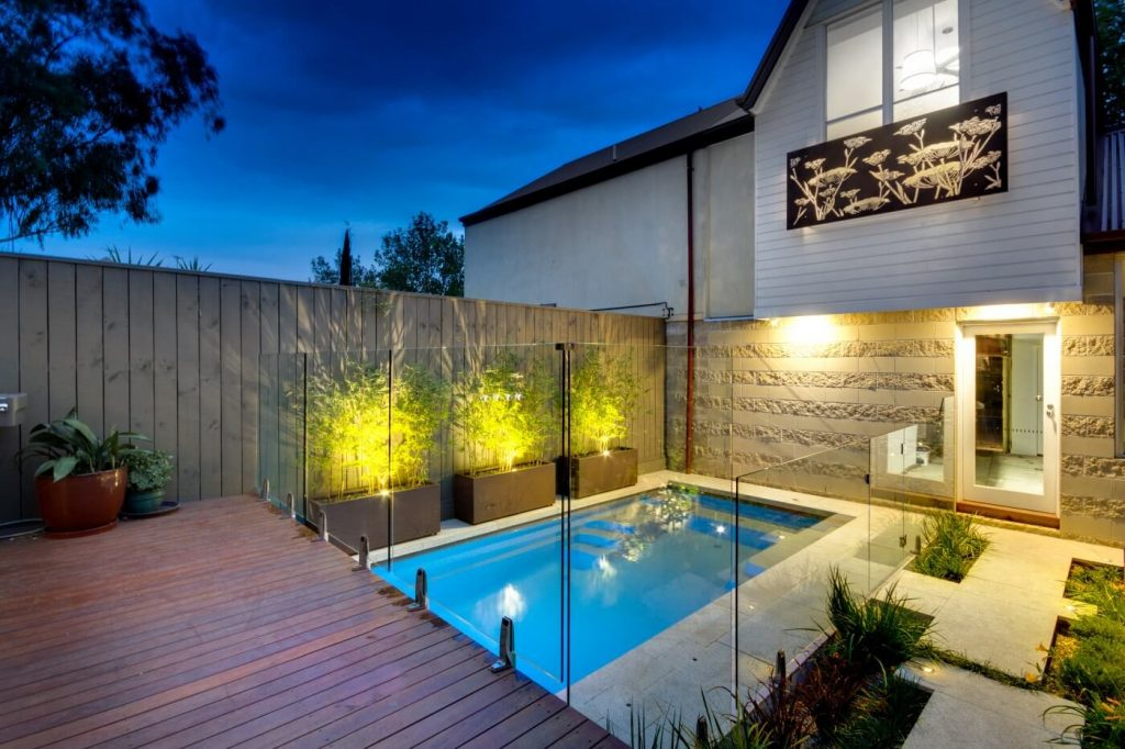 Compass Pools Australia Backyard pool design ideas X Trainer small backyard pool with a deck