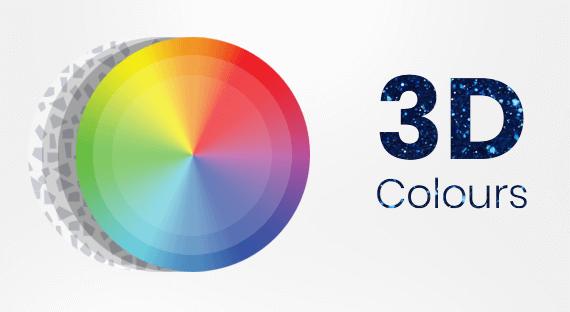 Bi-luminite 3D Colours
