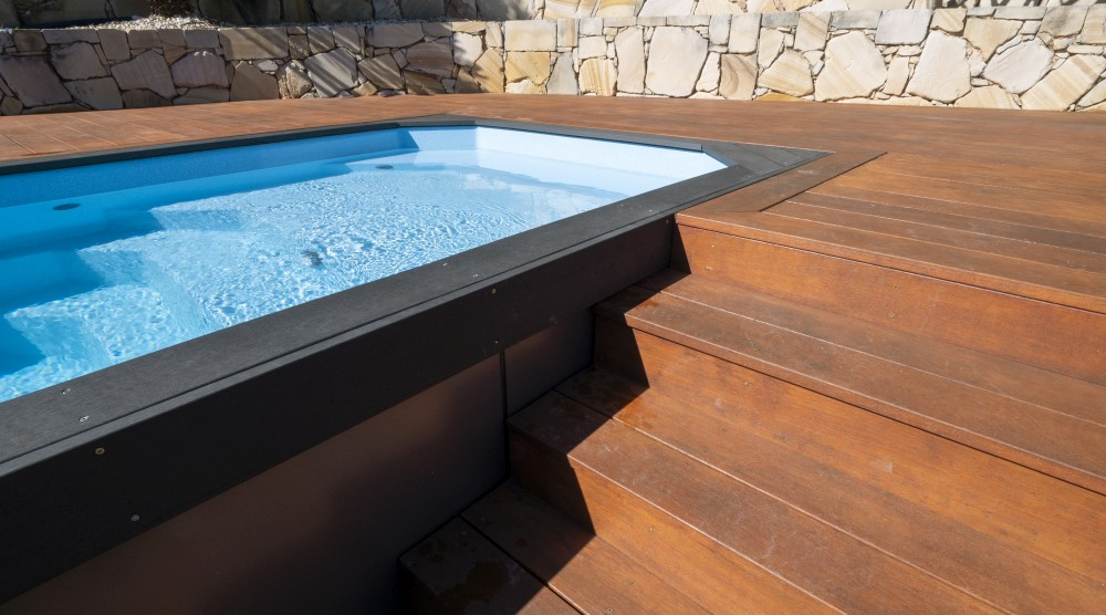 Consider Little Pools self standing fibreglass pools for cost conscious pool owners