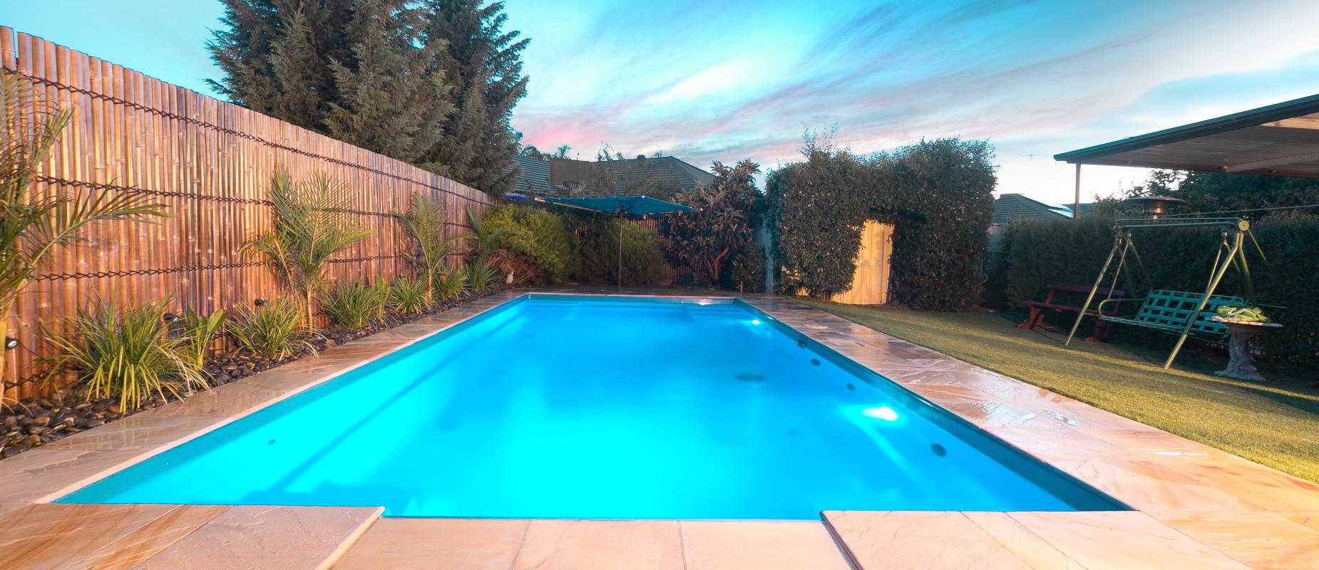 Contemporary Pool Design - Shallow Ends, Deep Centre ...