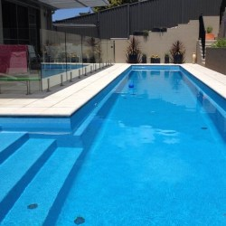 Compass Pools Australia Fastlane lap pool shape Menu