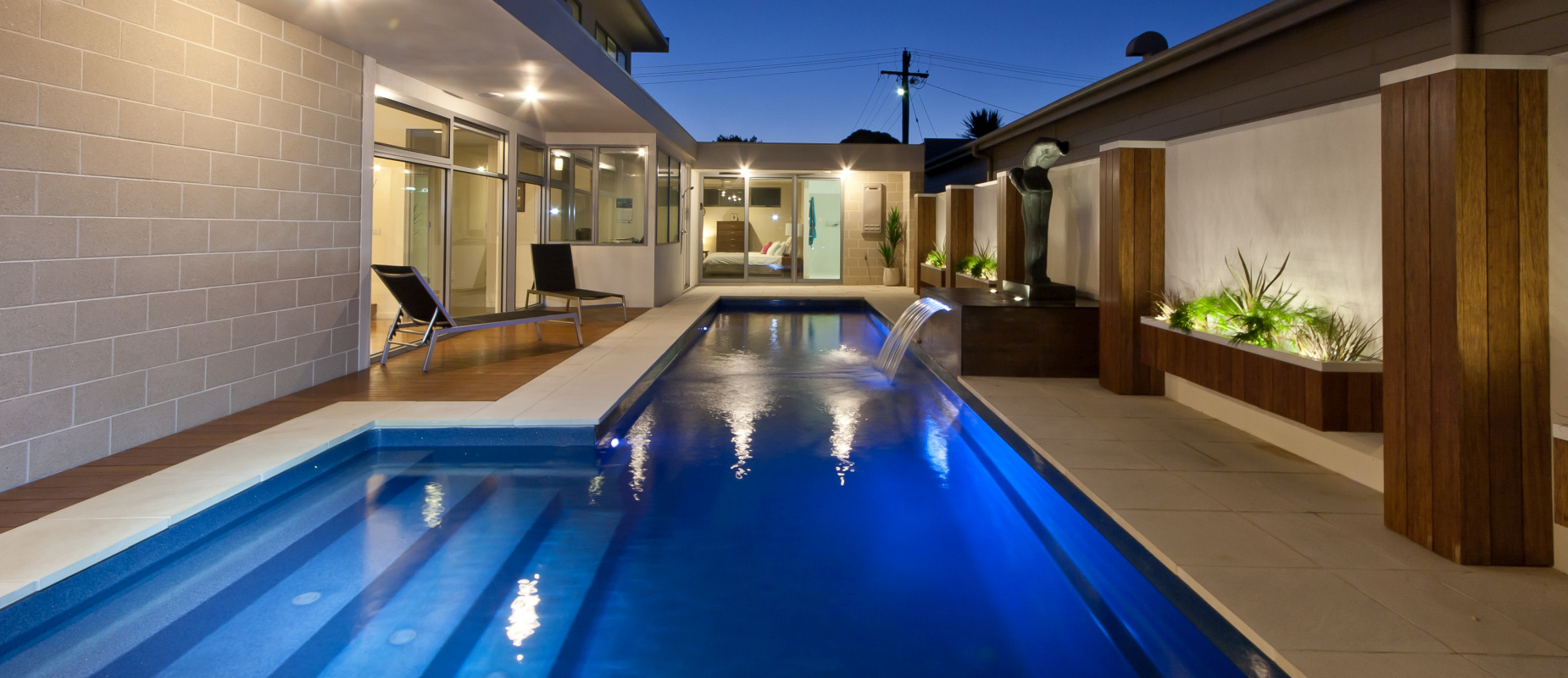 Fastlane Swimming Pool - for Serious Swimmers | Compass Pools