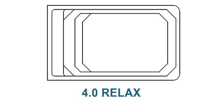 Fibreglass Plunge Pools - Relax 4 0