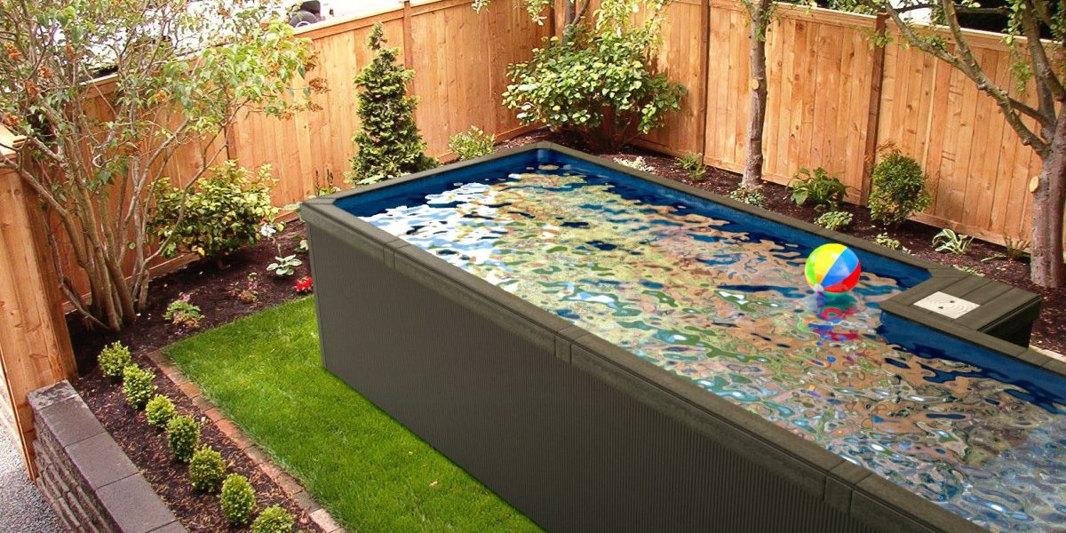 Shipping Container Pools: Introducing this new swimming pool ...