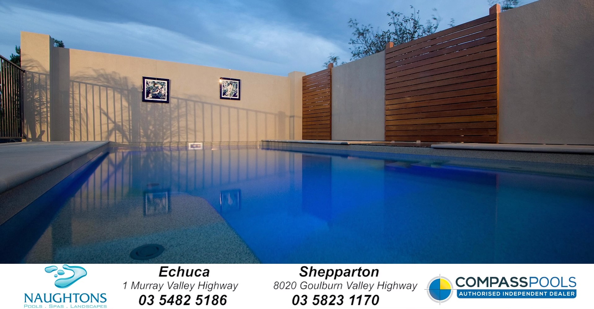 Compass Pools Australia Naughtons Pools and Spas Pool builder for Shepparton and Echuca