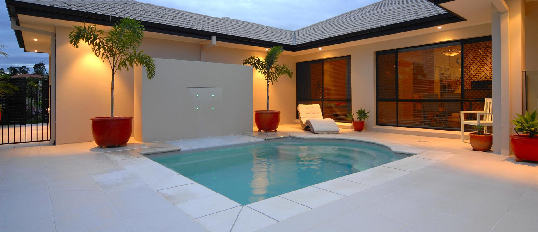 Plunge Pools - Small Courtyard Swimming Pools | Compass Pools