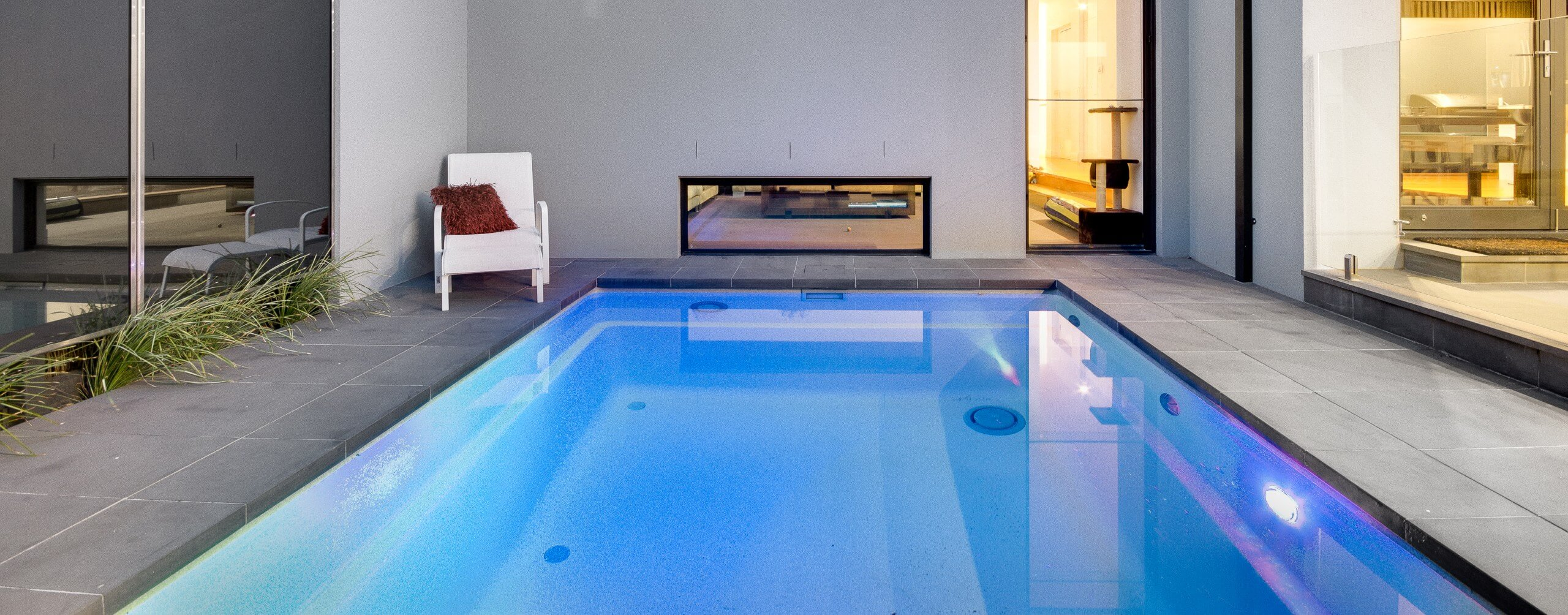 Compass Pools Australia Plunge pool Balwyn installation