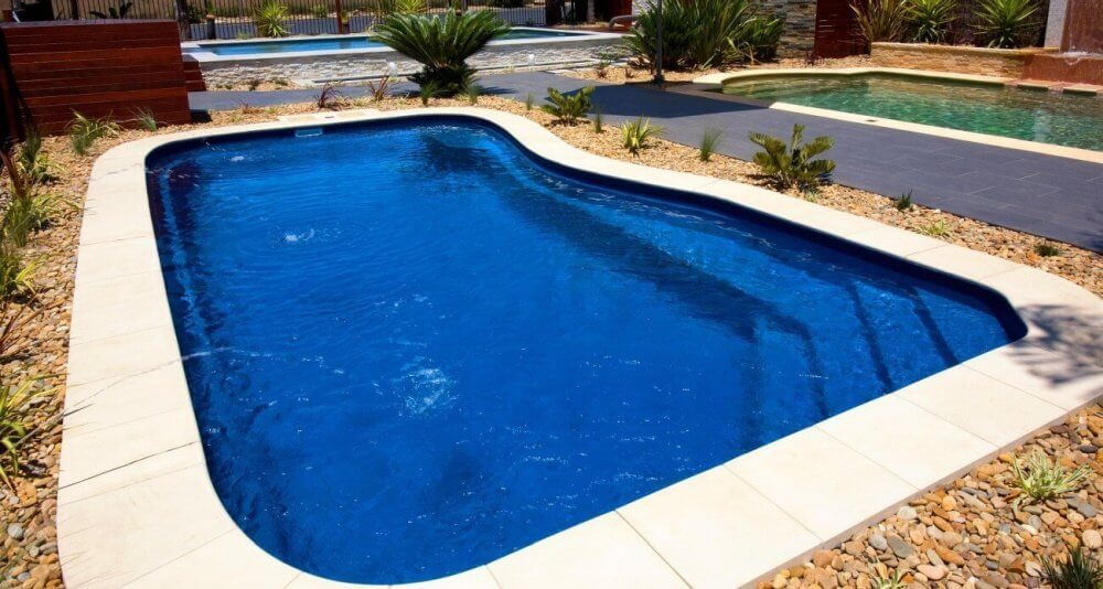 Compass Pools Australia Riviera as perfect pool for the kids