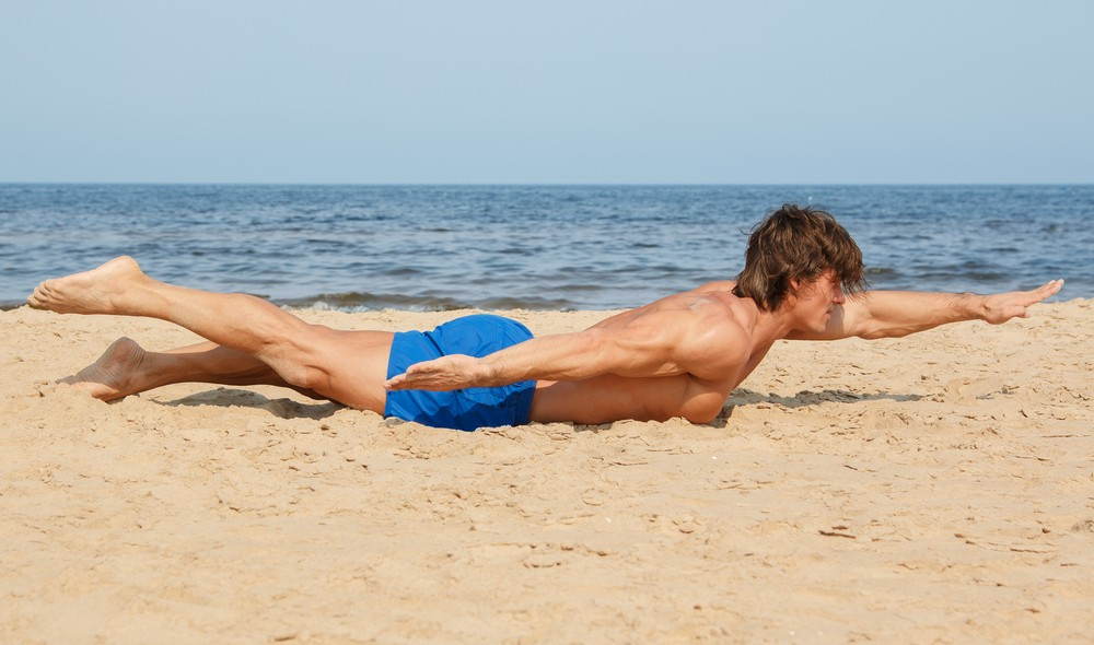 Swimmers exercises - core