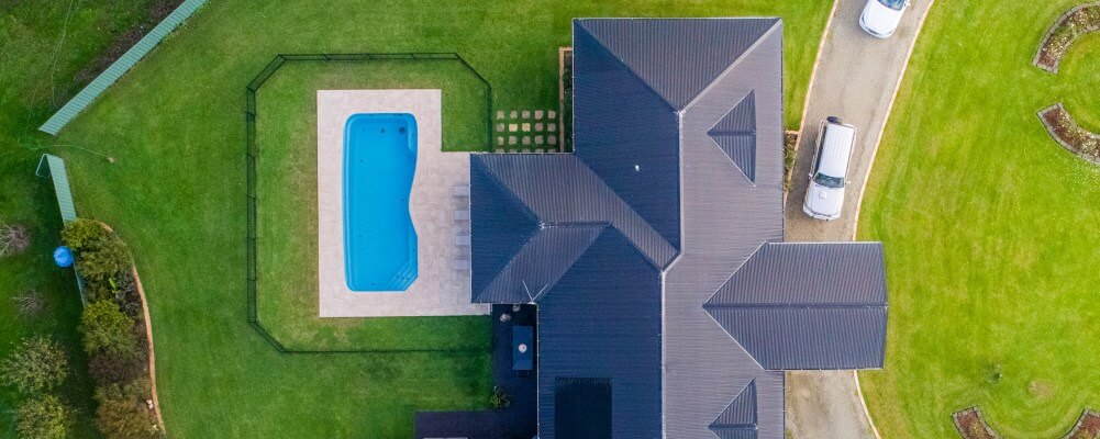 The Riviera fibreglass pool is popular with Australian families