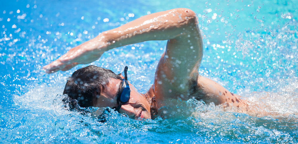 Compass Pools Australia To improve your swimming work on different strokes