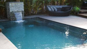 X Trainer 7 2 fibreglass pool installation in Geelong VIC - the whole pool