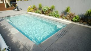 X Trainer 8 2 Pearl fibreglass pool installation in Geelong VIC 03