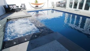 Compass Pools Australia X Trainer pool and spa combo in Weastmeadows VIC 06