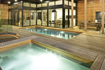X-Trainer pool and spa combo installation in Barwyn Heads Victoria