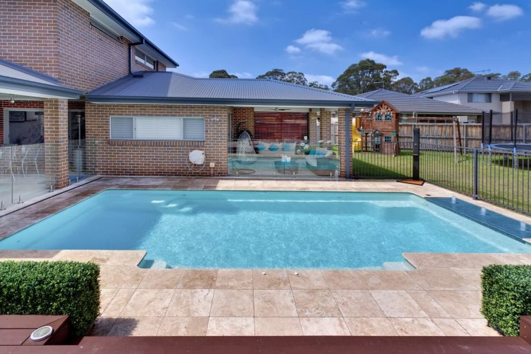 Building A Pool Access To Backyard Compass Pools Australia