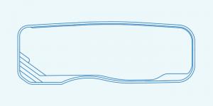 Compass fibreglass pool shape Riviera 11.8