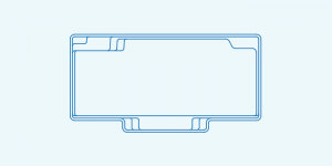 Compass fibreglass pool shape Vogue 8.2