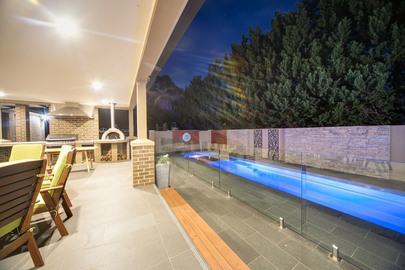 Fastlane 10.3 self cleaning pool and spa combo Royal Blue colour Berwick Leongatha 05
